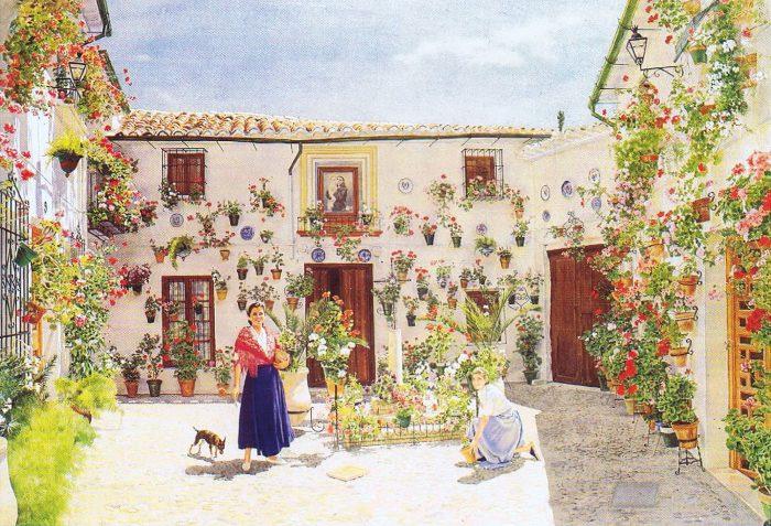 La imagen tiene un atributo ALT vacío; su nombre de archivo es 24-jose_gonzalez_bueno-gitanillas_y_geraneos-700x477.jpg