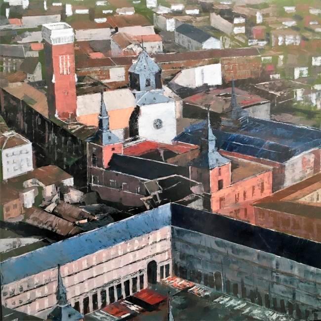 La imagen tiene un atributo ALT vacío; su nombre de archivo es 68-emilio_sotomayor-tejados_de_la_plaza_mayor.jpg