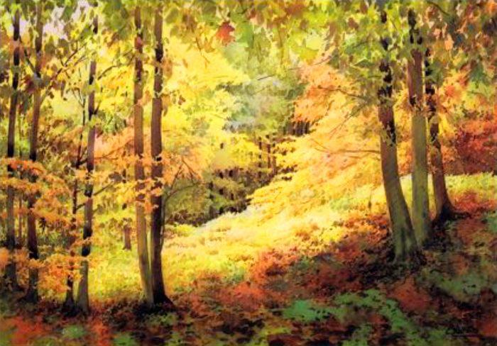 La imagen tiene un atributo ALT vacío; su nombre de archivo es 86-carmelo_basterra-hayedo_en_otoño-700x488.jpg